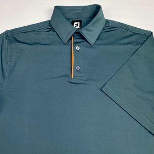 FootJoy FJ Men's Short Sleeve Golf Polo Size M
